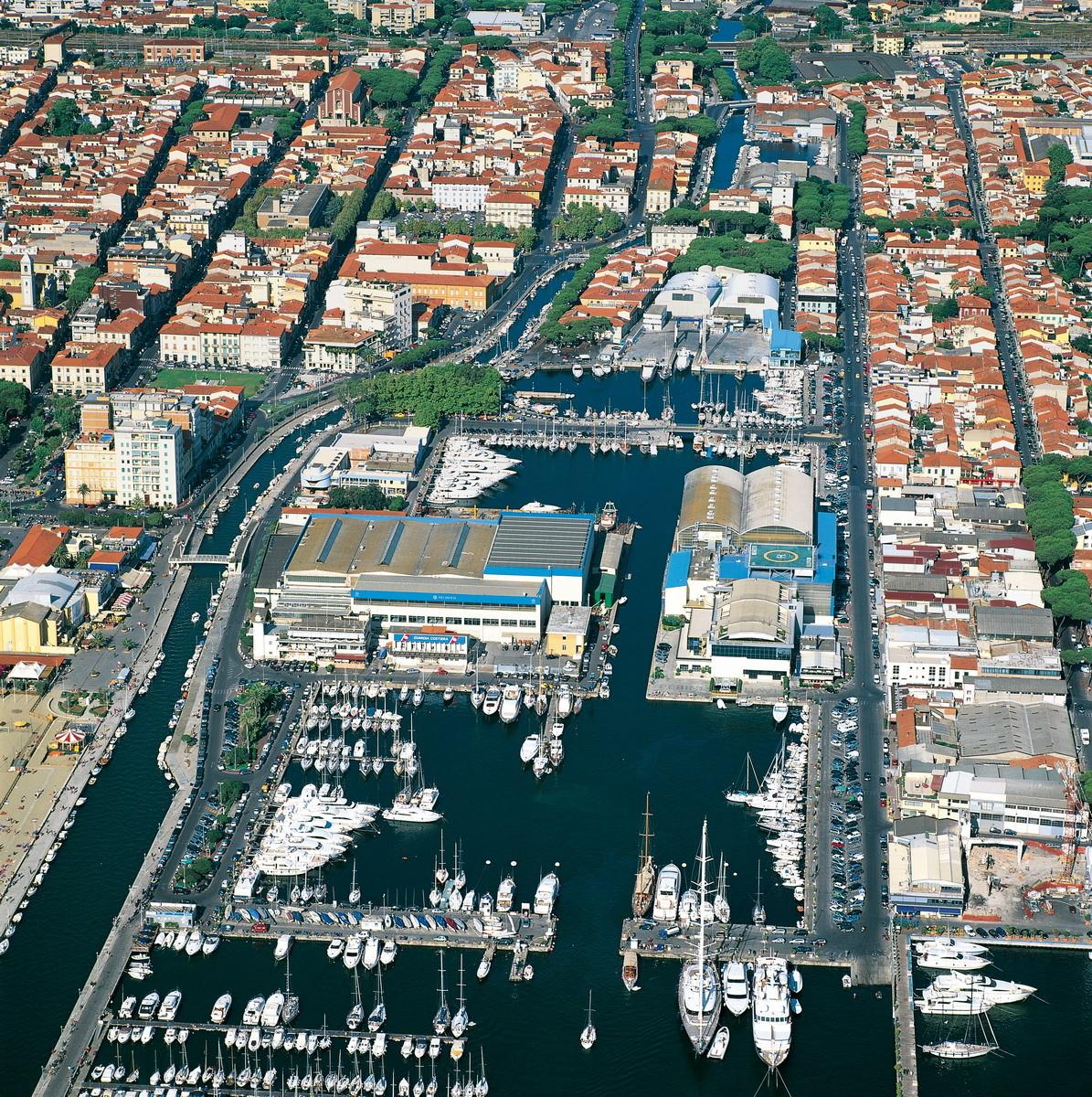 Yachthafen von Viareggio