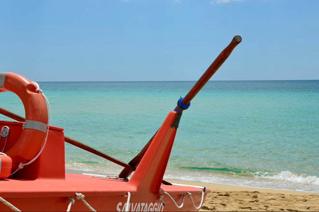 Im September besonders schön: Strand der Versilia