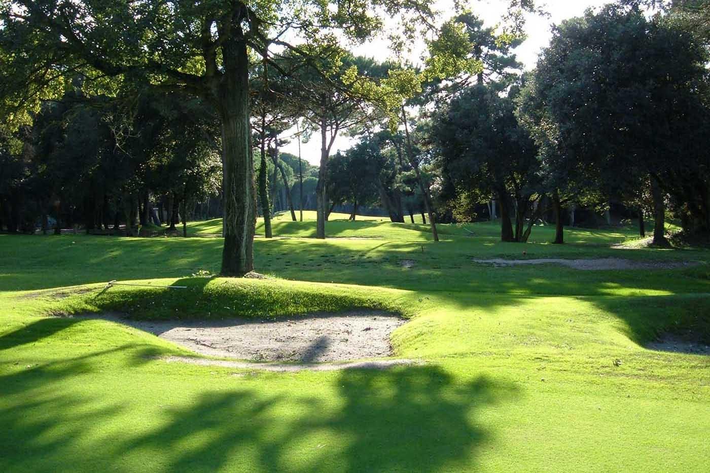 Golf Club Tirrenia gehört zu den schönsten 9-Loch Plätzen Italiens.