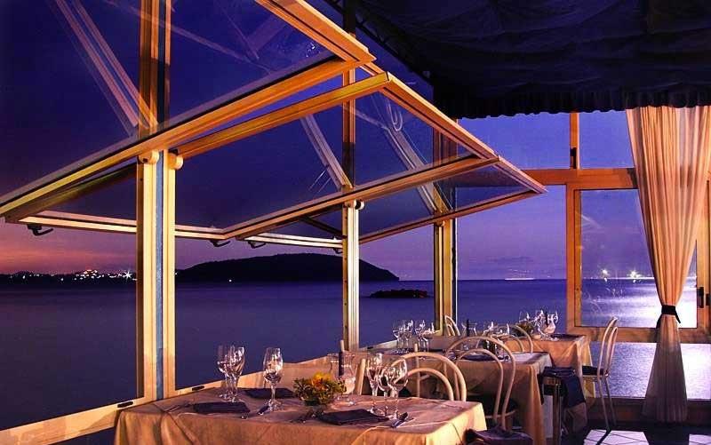 Romantisches Abendessen bei Meerblick... Himmlisch!