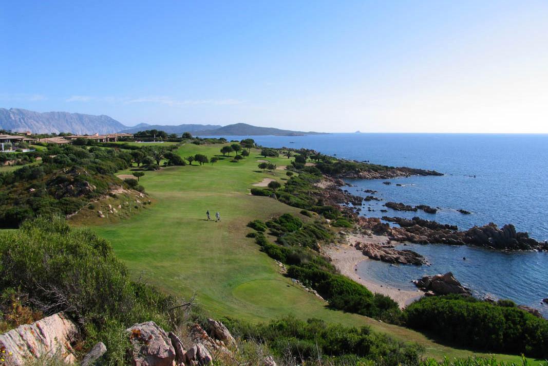 Vor Ort: Golf Club Puntaldia, ein Traum am Meer