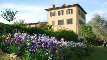 Ein Klassiker in der Toskana mitten auf dem Panoramaplatz von Montecatini.