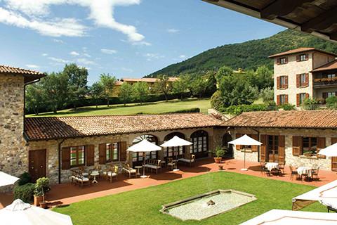 Im Herzen des Weingebietes Franciacorta am Iseosee.