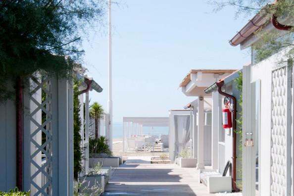 Nach dem Strand nach Forte dei Marmi zum Apero...