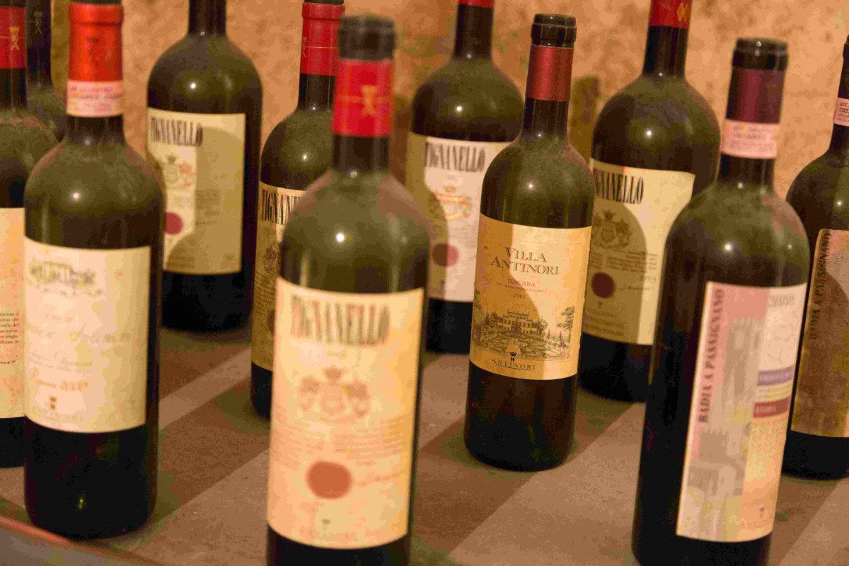 Vino & Golf - Supertuscans