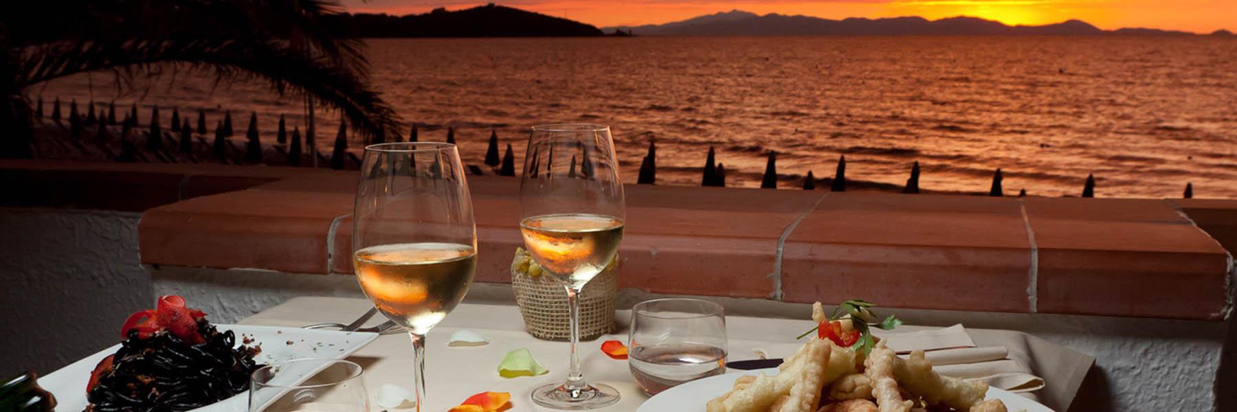 Romantisches Abendessen am Meer - für Sie reserviert von Italia Golf Tours