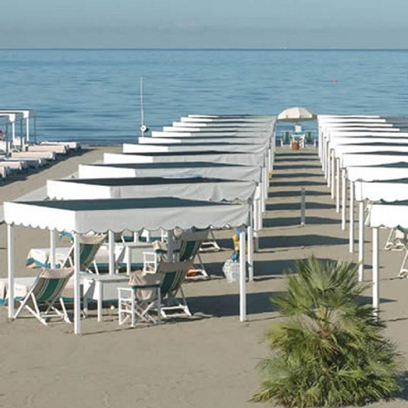 Luxuriöses Strandbad der Versilia