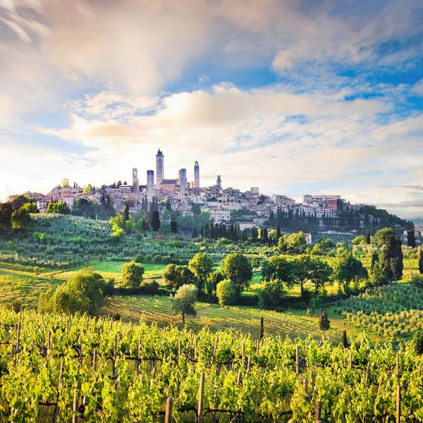 malerisches San Gimignano