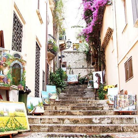Taormina - der Kunstmarkt
