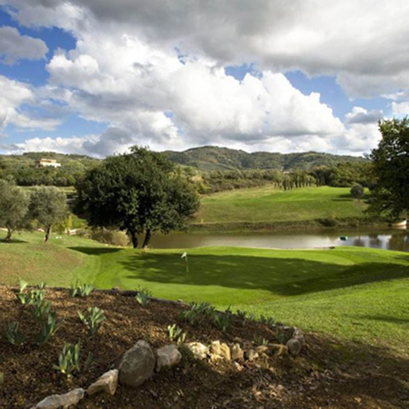 Golf Montecatini - Panoramaplatz