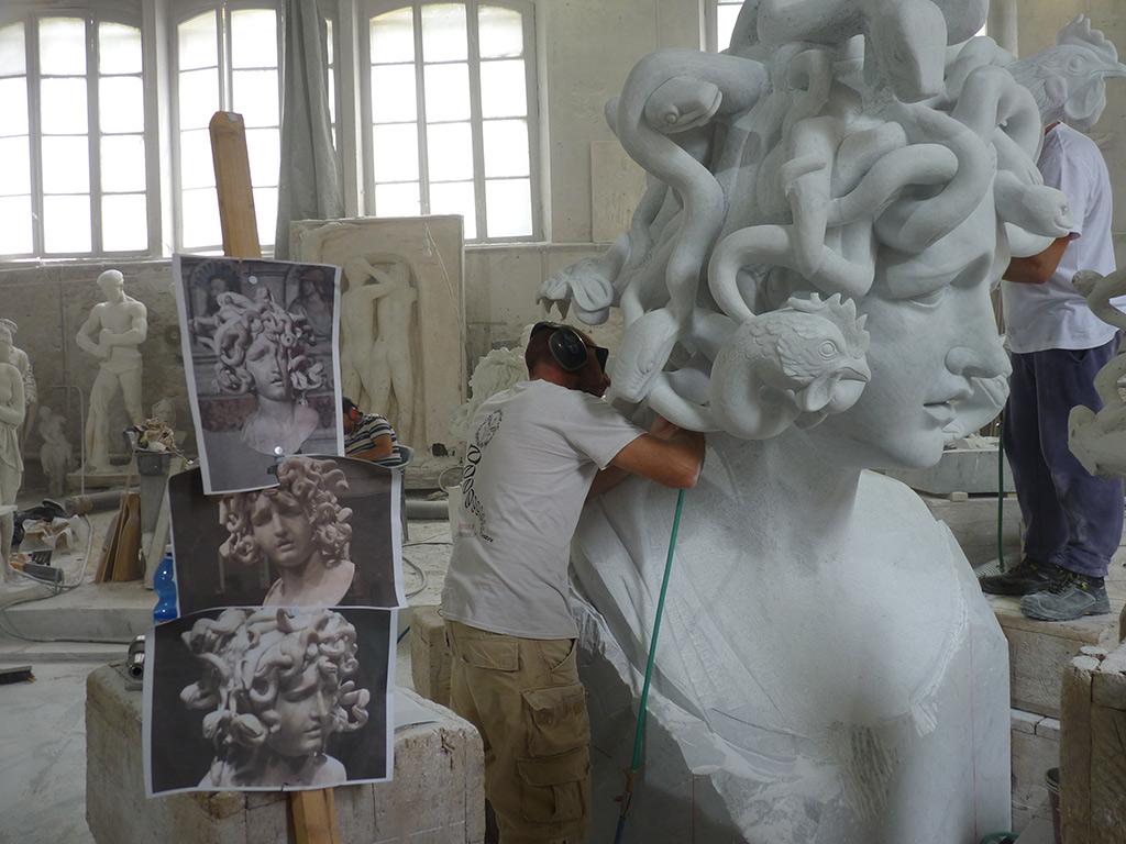 Marmor Bildhauer