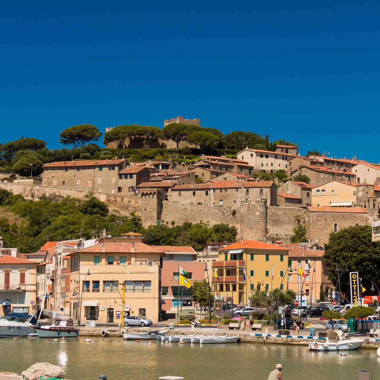 Castiglione della Pescaia-malerische Ortschaft