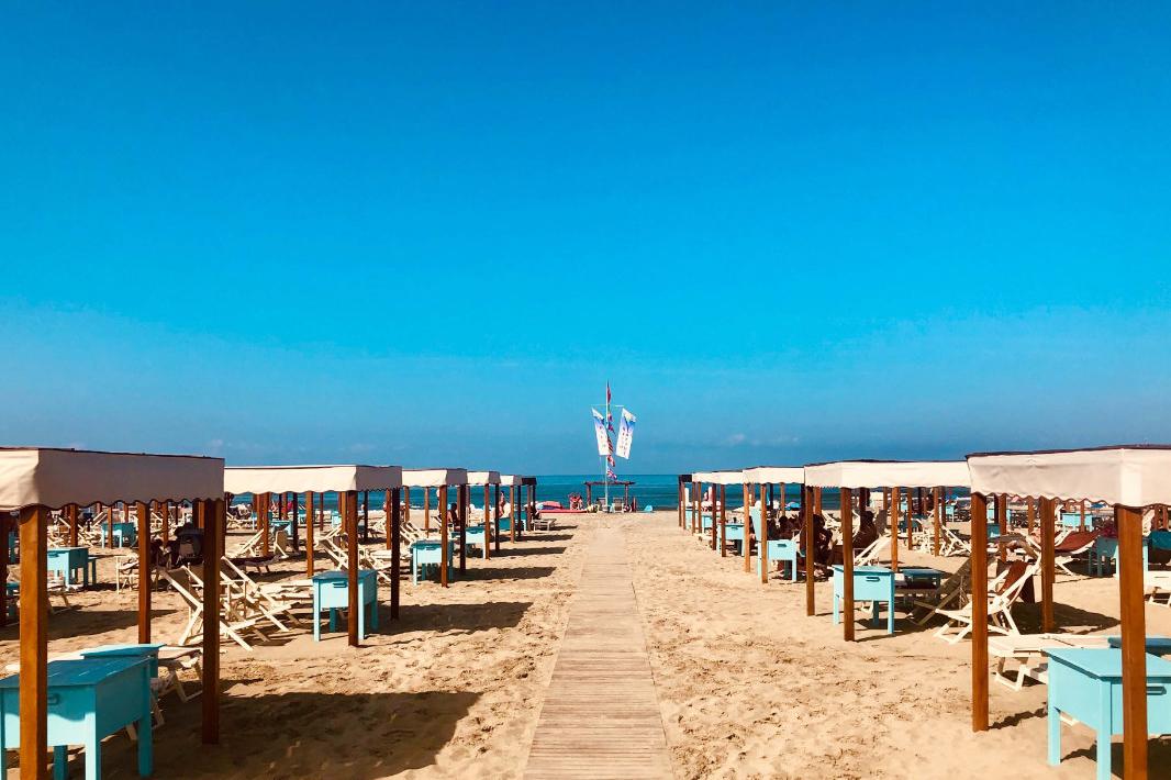 Strand - Toskana - Viareggio