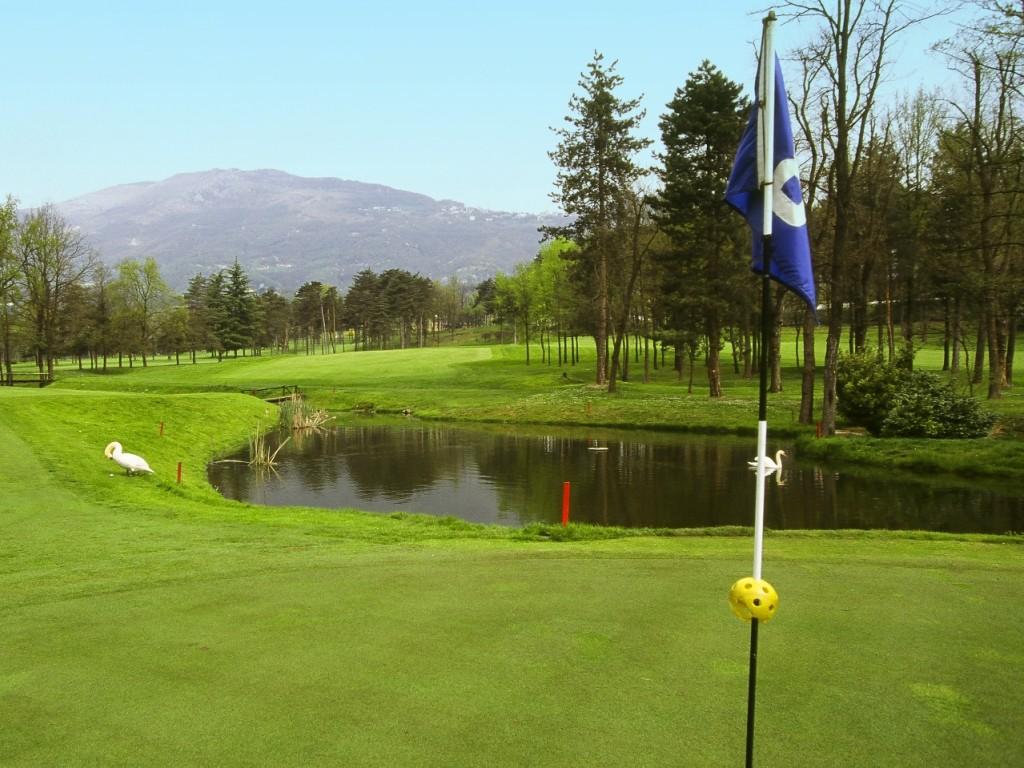 Der PGA Pro Costantino Rocca hat hier begonnen.
