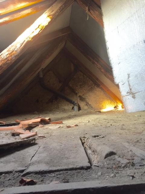 Dachboden Spitzboden