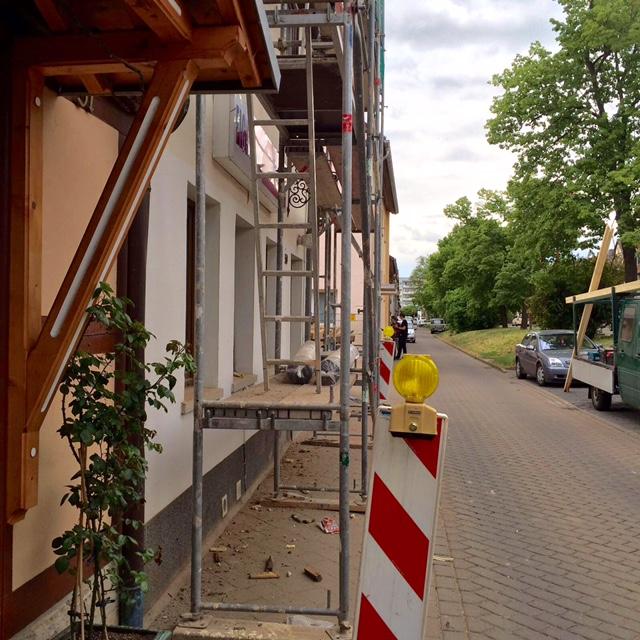 Strassenansicht Huystrasse
