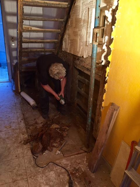 Eingangsbereich Fußbodensanierung