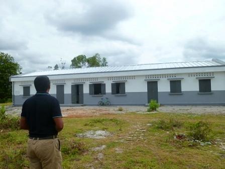 Ilaka-est, un nouveau collège a été inauguré en 2014