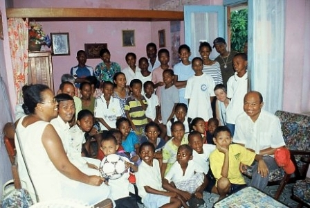 les enfants parrainés réunis à Tamatave