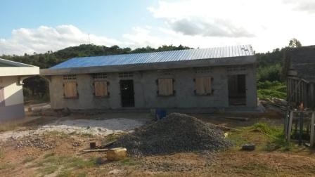 le nouveau bâtiment presque fini au 8 mai 18