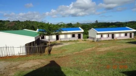 Les 3 bâtiments d'Amboditavolo terminés