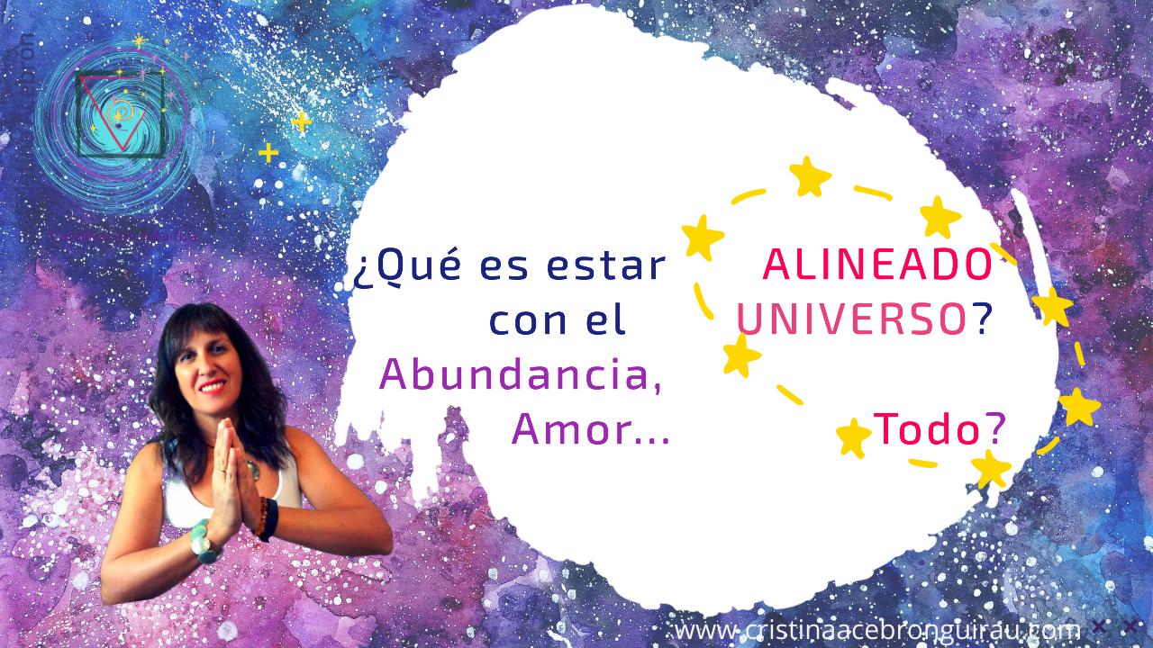 Alinéate con el Universo
