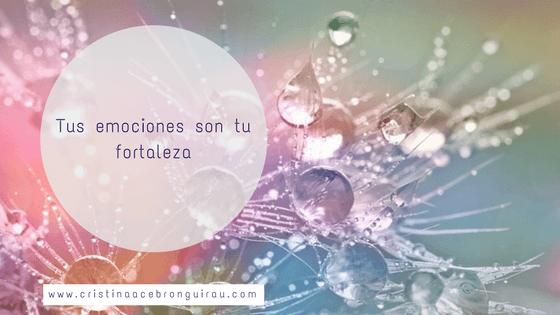 Mensajes espiritual canalizado por Uriel. Tus emociones te hacen más fuerte