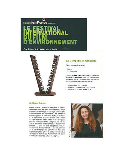 Trophée du Festival du Film d'Environnement (2003 - 2007)