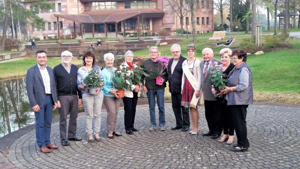 Sieger beim Blumenschmuck-Wettbewerb 2017