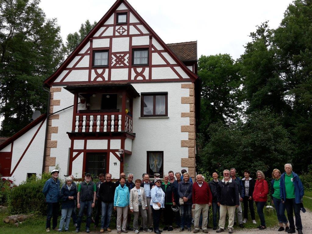 Die Teilnehmer an der Hembach-Radtour 2017