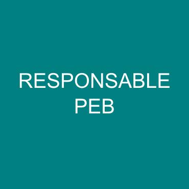 responsable peb