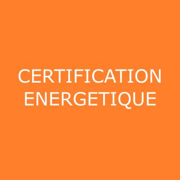 certification énergétique
