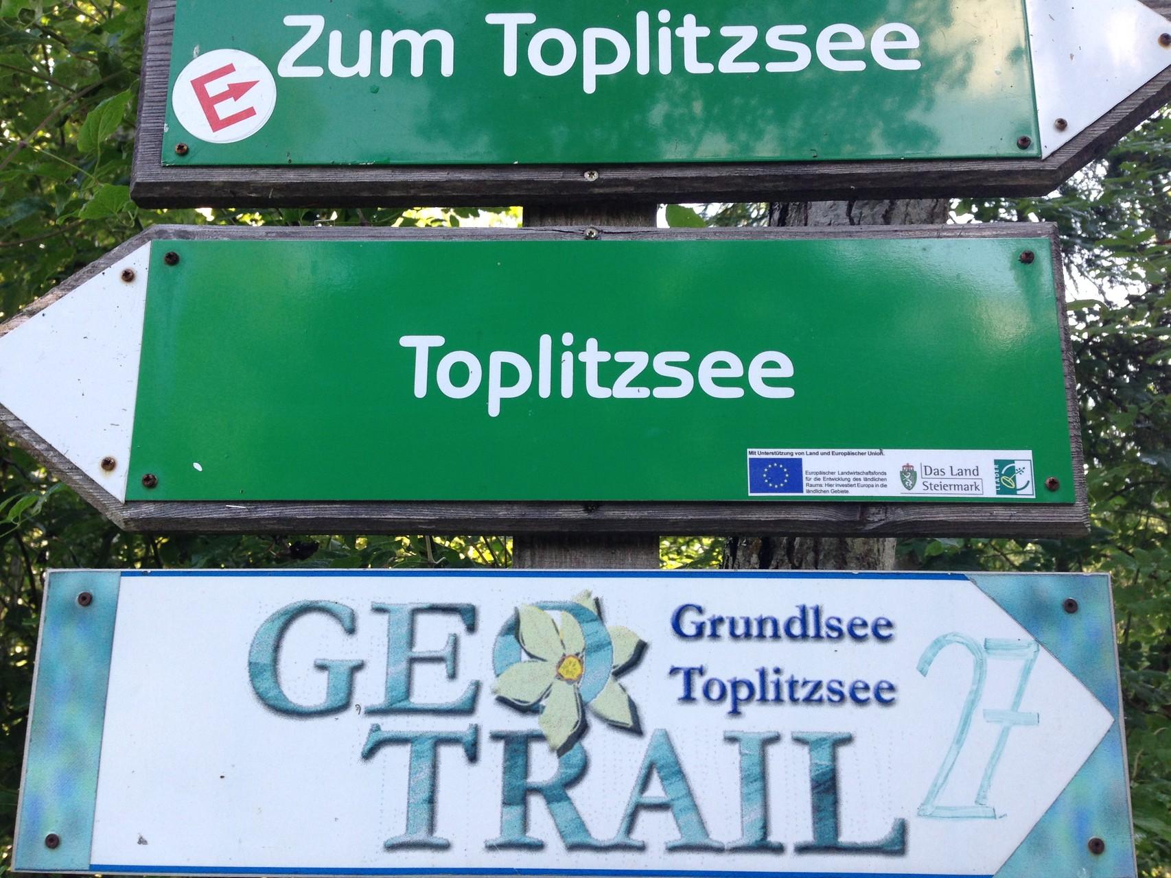 Auf dem Weg zum Toplitzsee