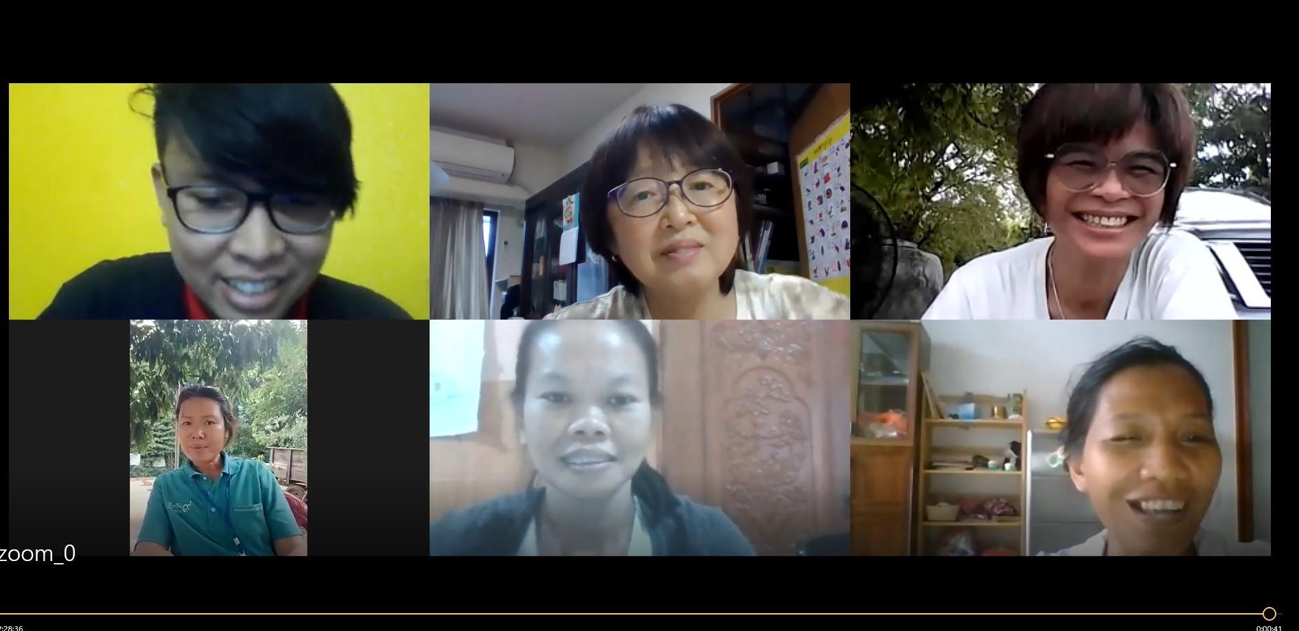 タイ・カンボジア・オンライン交流