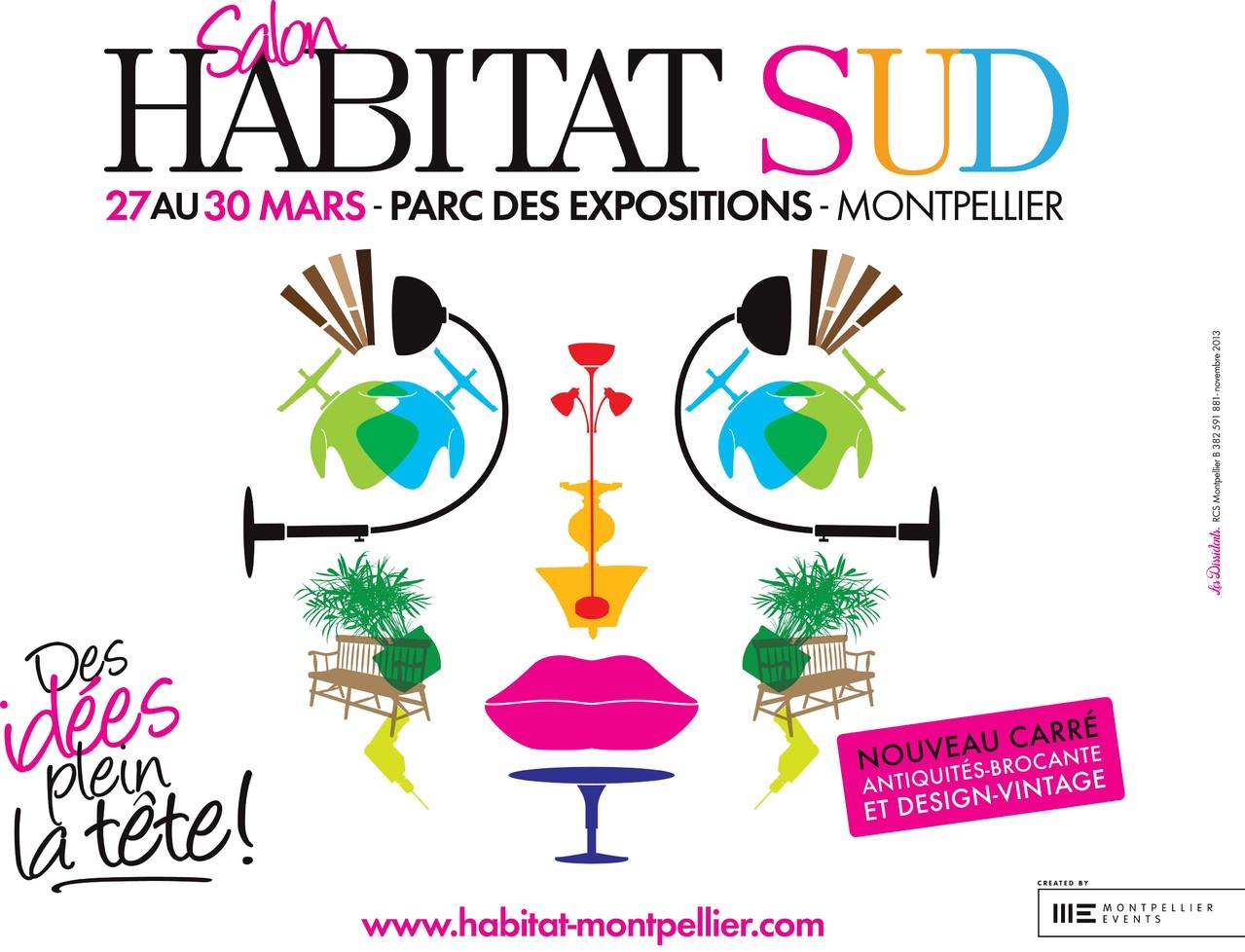 Salon de l 39 habitat montpellier cr ations uniques lavabos art de la table carrelage - Art de la table montpellier ...