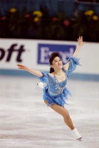 Kristi Yamaguchi - Weltmeisterin und Olympiasiegering 1992