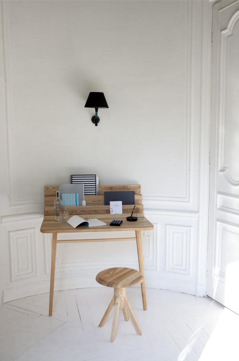 Le Scriban Margaux Keller Design Studio # Bureau Mural La Redoute