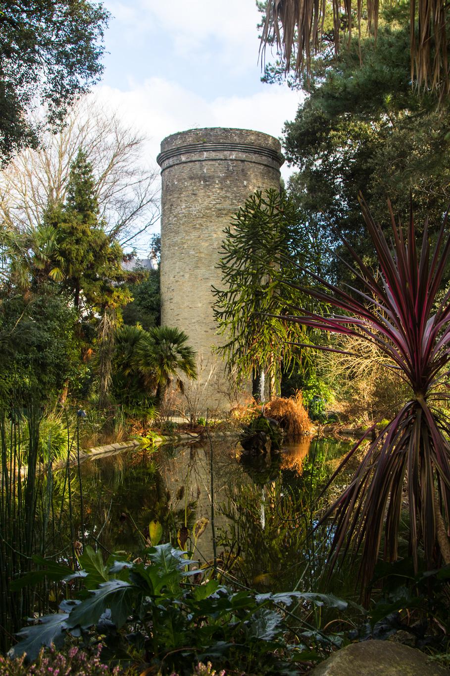 Der Jardin Emmanual Liais in Cherbourg auf der Halbinsel Cotentin in der Normandie