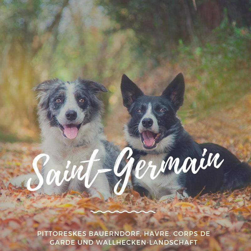 Wanderung bei Saint-Germain-sur-Ay