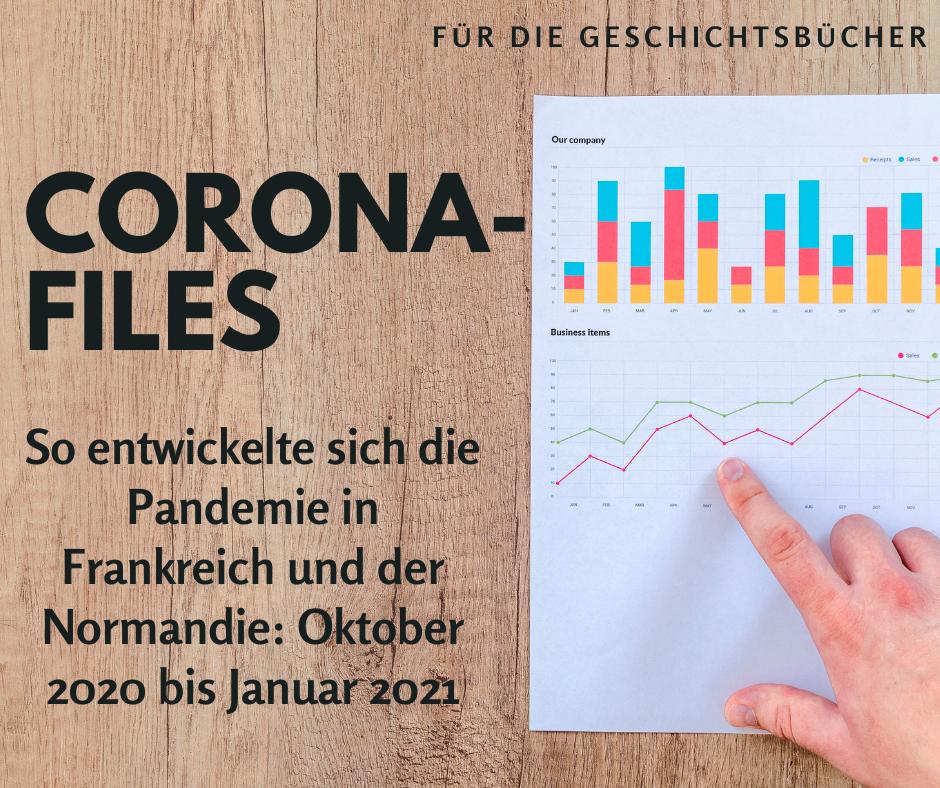 Corona-Files: Statistiken von Oktober bis Ende Januar