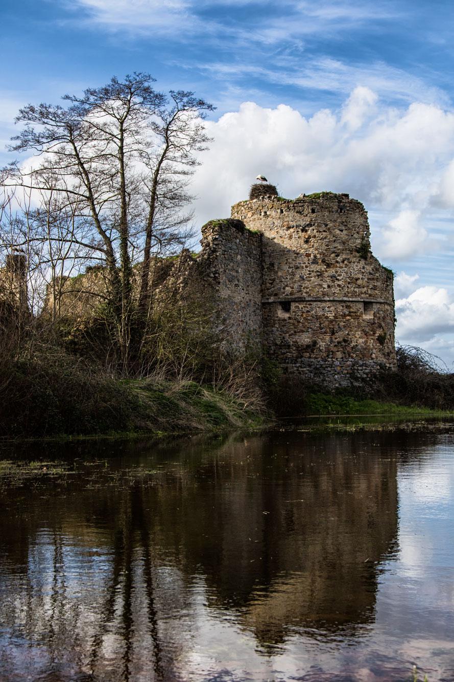 Château de la Rivière in Saint Fromond