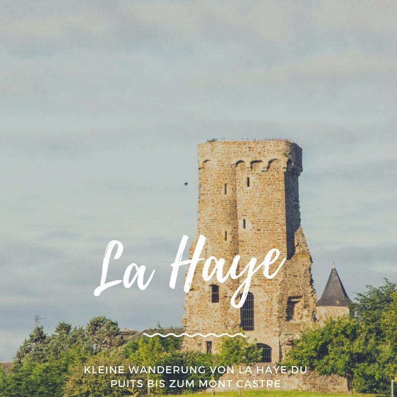 Wanderung von La Haye du Puits bis zum Mont Castre