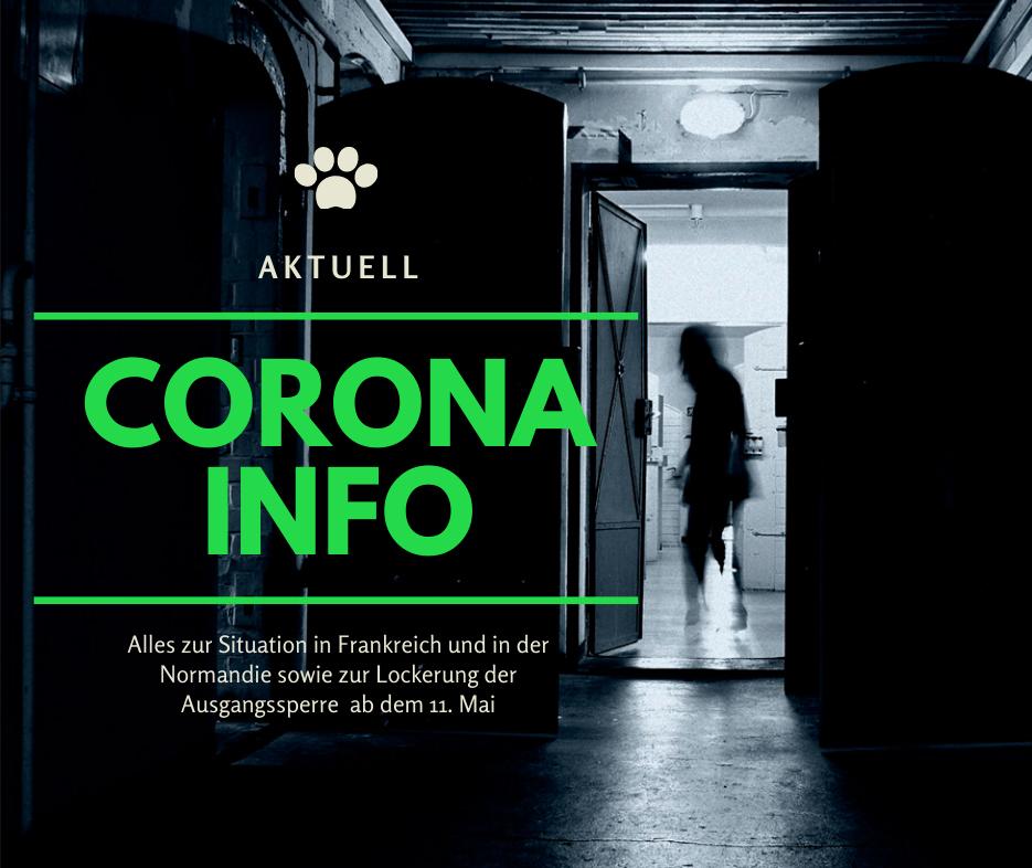 Eine Frau läuft durch eine geöffnete Gefängnistür. Illustration zum Thema Corona in Frankreich