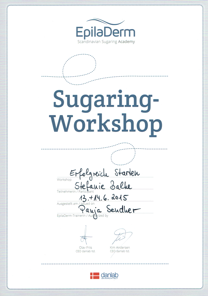 Workshop Sugaring