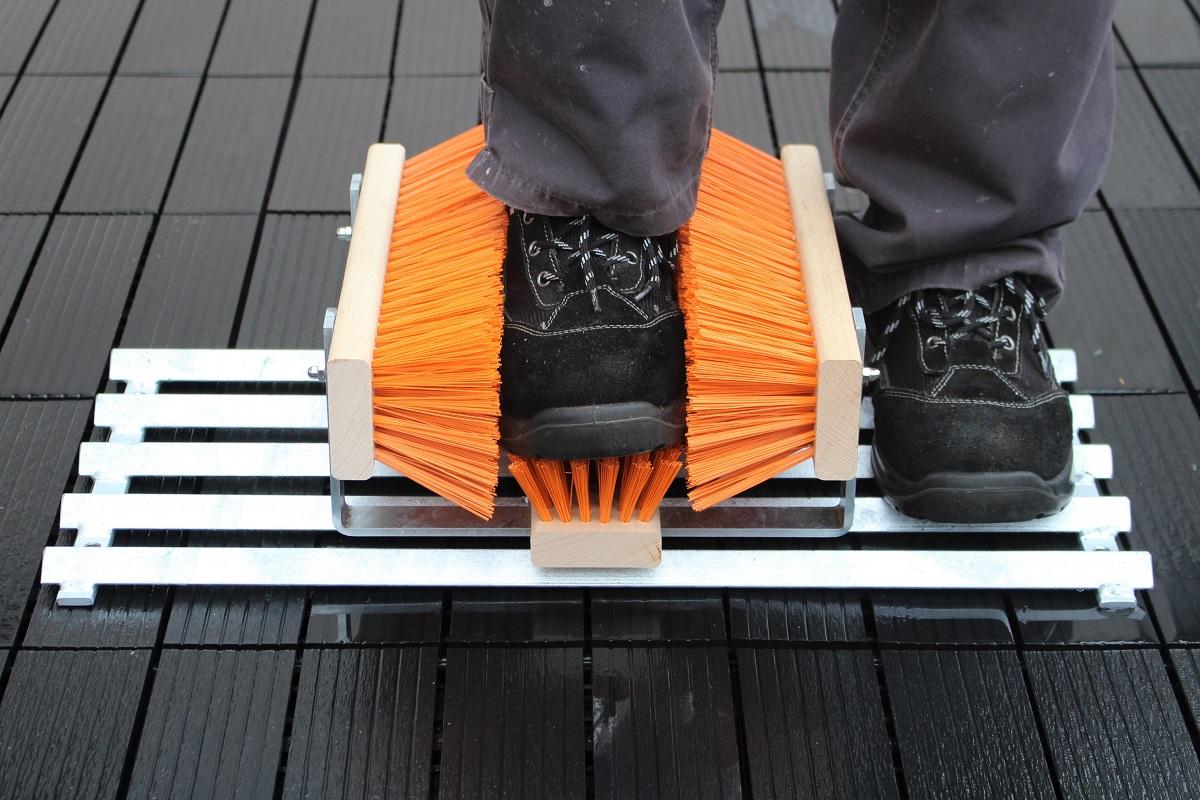 Abstreicher für Schuhe und Stiefel