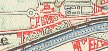 Le tracé en 1900
