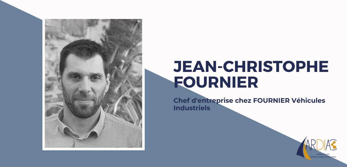 Jean-Christophe Fournier, Nouveau Président de l'Association