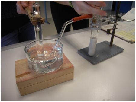 Schüler experimentieren