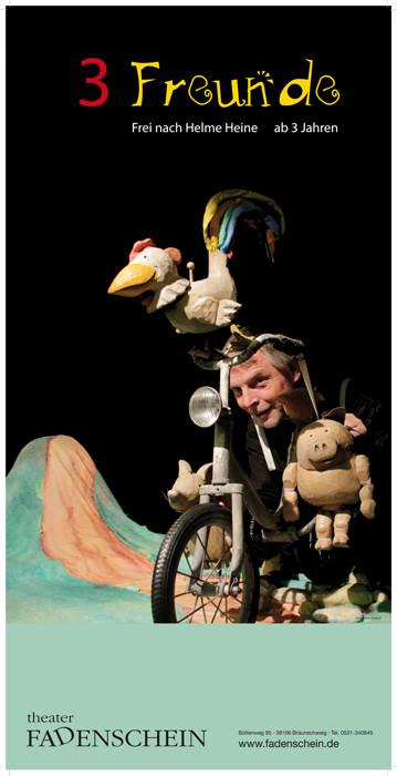 Theater Fadenschein, Figurentheaterstück für Kinder