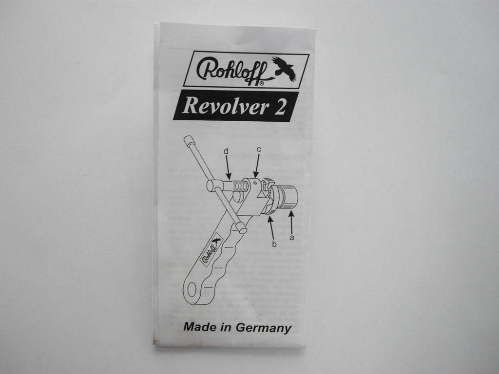 Rohloff Revolver - Anleitung - 9 g
